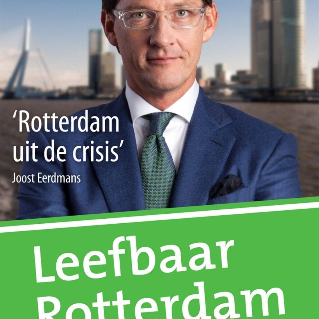 Leefbaar Rotterdam campagne poster