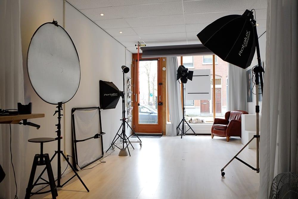 Interieur fotostudio Rotterdam